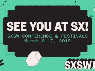 SXSW conference signage