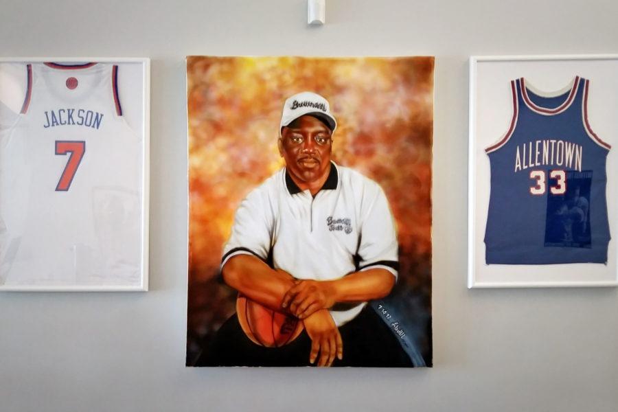 Artwork commemorating Gregory Jackson