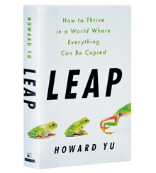 Cover of the book Leap by Howard Yu