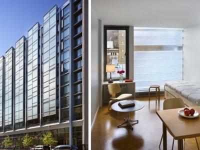 Urban Building exterior and interior