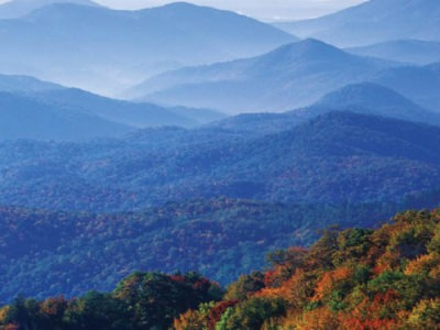 Exterior view of Blue Ridge Mountains