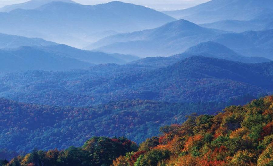Exterior view of Blue Ridge Mountains