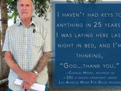 Man thanking program