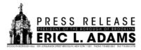 Eric adams Press Release Logo