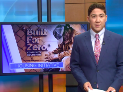 News report highlighting Built for Zero