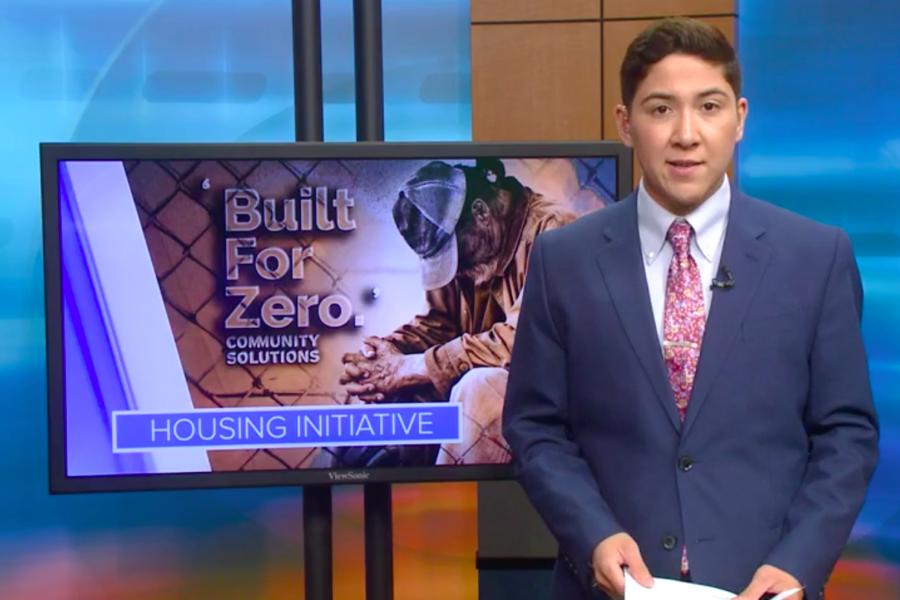 News report highlighting Built for Zero