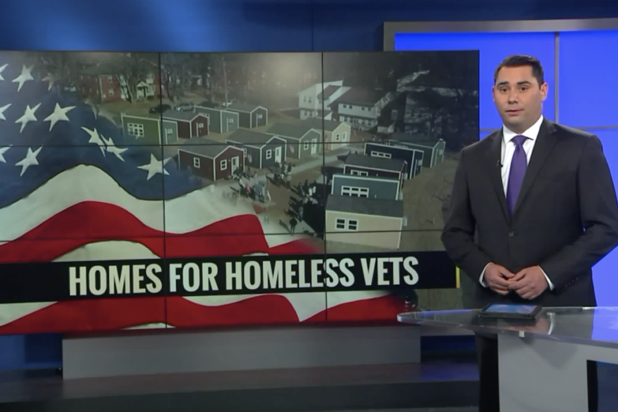 News report on homes for homeless vets
