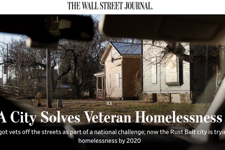 Wall Street Journal photo header of abandoned buildings