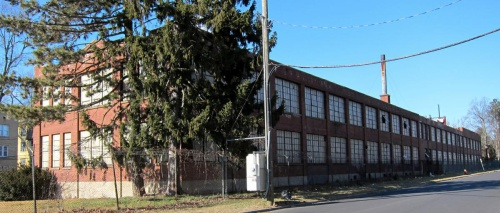 Abandoned building in Hartford