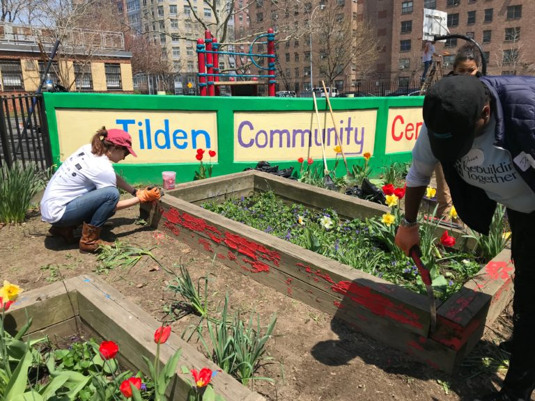 Tilden Community Center Garden in Brownsville NY