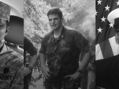 Headshots of Veterans in service uniform who are now on the BFZ team