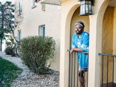 Thomas was one of the more than 400 veterans experiencing homelessness in Metro Denver.