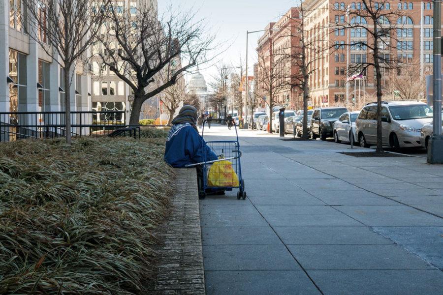 Street scene in Washington D.C.