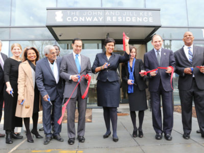 Conway ribbon cutting