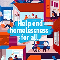 Help end homelessness for all