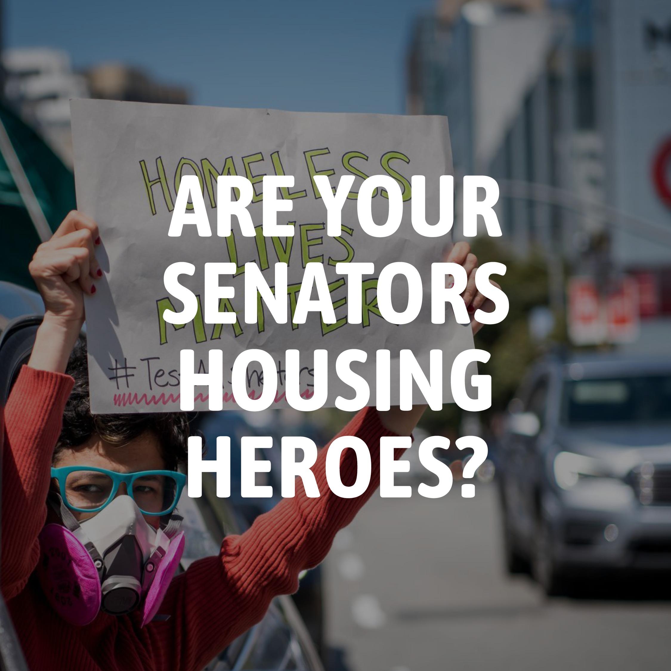 Are your senators housing heroes?