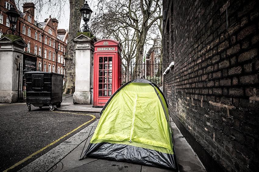 UK homelessness