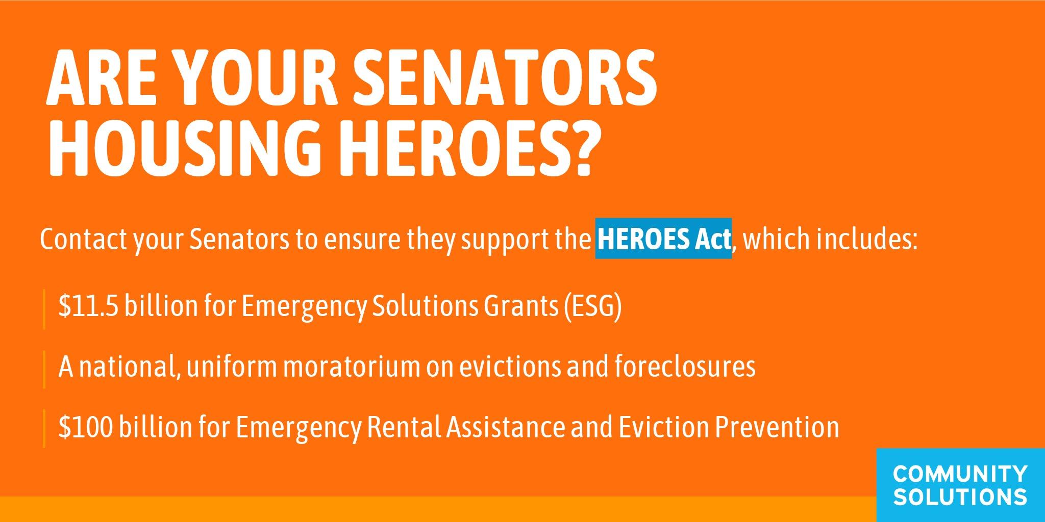 are your Senators Housing HEROES