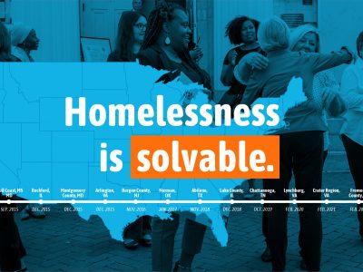 Homelessness is solvable.
