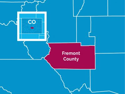 Fremont County Map Image