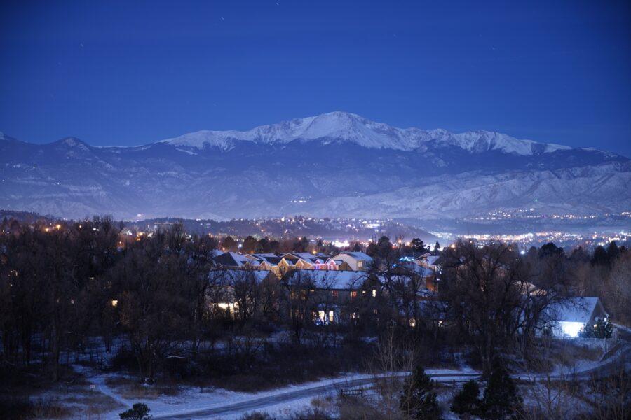 Landscape of Colorado Springs